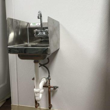 RLB Plumbing Commercial Sink